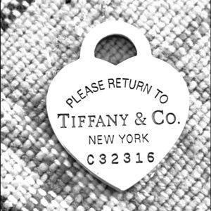 EUC Authentic TIFFANY & CO. New York .925 Charm